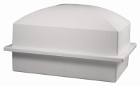 SINGLE BURIAL VAULT  WHITE 600 (3 Pack)
